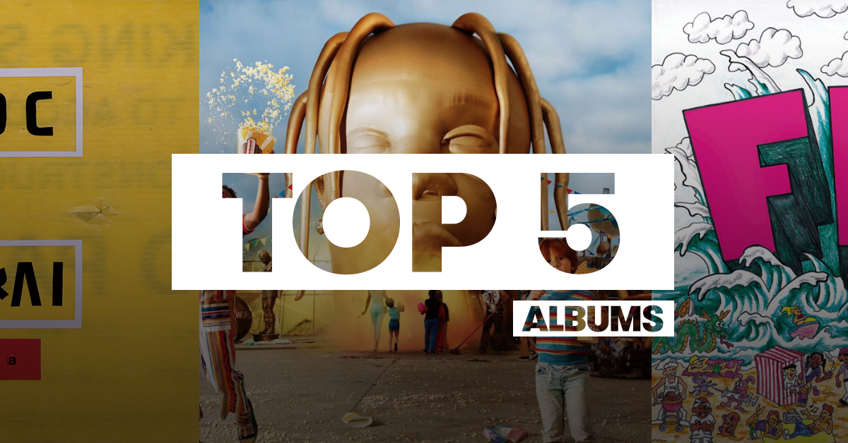 Top 5 albums of 2018
